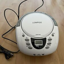 LONPOO Tragbare CD Player Bluetooth CD