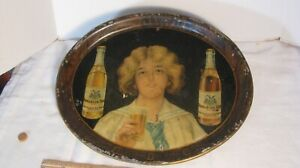 PRE-PRO EXCELSIOR BREWING CO.BROOKLYN,NY,  BEER SERVING TRAY ORIGINAL LITHO