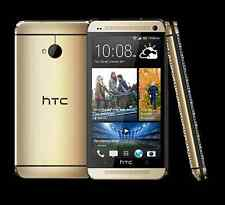 HTC One M7, Gold sbloccato - 32GB 4.0MP - Quad-Core UK/EU Nuovo