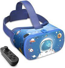 More details for destek vr headset for kids,110°fov anti-blue light eye protected lens 3d