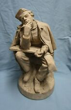 """John Rogers Group Statue Statuary """"Mail Day"""""""