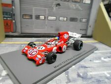 F1 MARCH Ford Cosworth 721 X 1972 #61 Ronnie Petersen STP ROC Spark 1:43