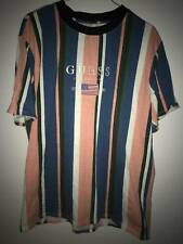 Guess Embroided Flag Stripe Tee, Size L