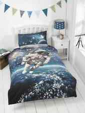 New Boys Glow in the Dark Space Walker Astronaut Single Duvet Cover Set
