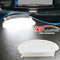 1x Error Free LED number License Plate Lights For Renault clio II 98-2005 Twingo