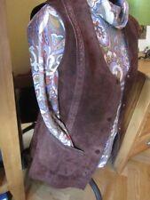 Scoop Neck Patternless Waistcoats for Women