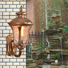 Outdoor Wall Lights Garden Glass Wall Sconce Lobby Wall Lighting Porch Wall Lamp