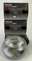 3 Philips H5006 Round Halogen Headlamp C6 12V 35W High/Low Beam 58-82 Corvette