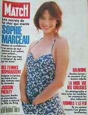 PARIS MATCH de 1994 SOPHIE MARCEAU BALAVOINE JAKSON PRESLEY ACCIDENT F1 BENETTON