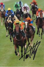 PAUL HANAGAN ASK DAN HAND SIGNED 6X4 PHOTO HORSE RACING.