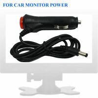 12V Car Cigarette Lighter Power Supply Charger Adapter 5.5 x 2.1mm DC Male Cable