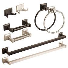 Modern Bathroom Hardware Set Bath Accessories Towel Bar Ring Toilet Paper Holder