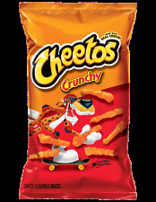 2 Bags of Crunchy Cheetos 9.5 oz Get Really Cheesy watching the NFL Games