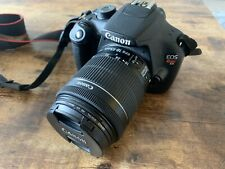 Canon EOS Rebel t5 DSLR camera with 18-55mm EFS lens