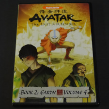 Avatar: The Last Airbender - Book 2: Earth - Vol. 4 (DVD, 2007) complete