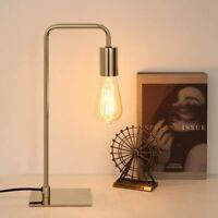 Modern Gooseneck Table Desk Lamp Beside Lamp Bedroom Living Room Dorm Gold