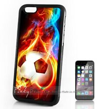 ( For iPhone 4 / 4S ) Back Case Cover P11636 Football Soccer