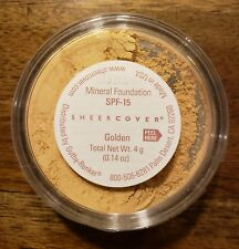 Sheer Cover GOLDEN Foundation 4g Mineral Foundation 90 Day Supply NEW & SEALED!