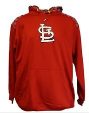 St. Louis Cardinals MLB Majestic Pullover Hoodie, Red, Mens, Big & Tall, Nwt