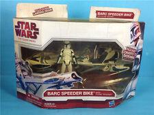 Star Wars The Clone Wars Barc Speeder Bike with Clone Trooper figure loose A10