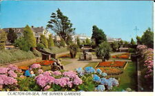 Essex: Clacton-on-Sea, The Sunken Gardens - Posted 1978