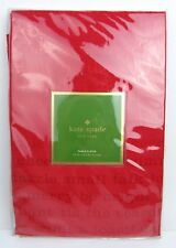 "Kate Spade All Trimmings Christmas Holiday Round Tablecloth 70"" Cranberry Red"