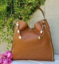 Michael Kors COLLECTION Miranda Zips Hobo Zipper calf Leather purse shoulder bag