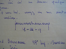 "FERNAND DEMEURE Autographe Signé 1919 JOURNALISTE LIBERTAIRE ""LA GERBE"" à BERAUD"