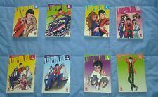 LUPIN III numeri 1-2-3-4-5-6-7-8 - Planet Manga - Panini Comics - Nuovi!