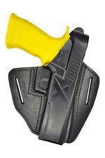 B24 Leder Holster für Sig Sauer P226 X-Five Pistoleholster schwarz VlaMiTex