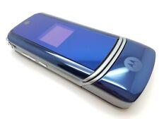 VGC Motorola KRZR K1 - Blue (Unlocked) Mobile Phone