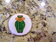 Harrods of London teddy bear doorman keychain