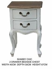 Country 45cm-50cm Bedside Tables & Cabinets with Shelves