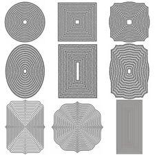 Big Basic Border Frame Metal Cutting Dies Stencils Scrapbooking Paper Card Craft
