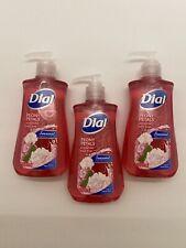3 Pack Dial Peony Petals Hydrating Liquid Hand Soap 7.5 Fl Oz
