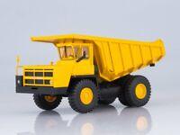 Scale model truck 1:43 BELAZ-7526 (yellow)