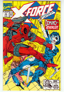 X-Force #11 Very Fine Plus 8.5 Deadpool Second Appearance Of Domino