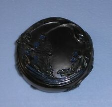 """Trinket Box, Lovely """"Earth Maiden"""" Mythical-Look """"Old Stock Item"""" 2 Piece, New!"""