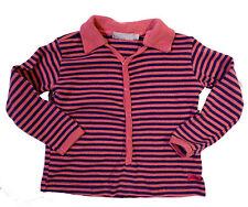 Boutique Brand Imps&Elfs Cotton Polo Shirt, Size 86 EU (US 18m), Rose/Eggplant