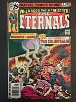 Eternals #2 1976 first printing original Marvel Comic Book