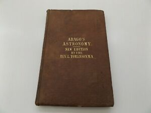 1856 ARAGO'S POPULAR LECTURES on ASTRONOMY Illustrated