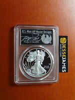 2017 W PROOF SILVER EAGLE PCGS PR70 DCAM THOMAS CLEVELAND FIRST STRIKE 1 OF 1000