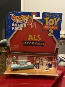 Vintage Hot wheels Disney Toy Story Al's Toy Barn