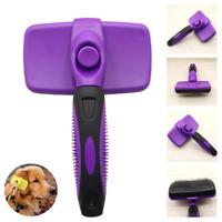 Grooming Brush Pet Deshedding Tool Rake Comb Fur Remover Reduce Hair For Dog Cat