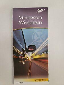 AAA Road Map of Minnesota Wisconsin