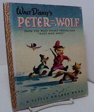 Walt Disney's Peter and the Wolf - Little Golden Book