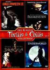 The 4-Movie Thrills & Chills Collection Vol 1 (DVD 2013) Frankenstein Dracula, R
