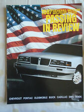 General Motors Military Sales brochure 1987