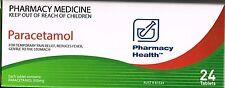 => PRICE SMASH PHARMACY HEALTH PARACETAMOL 500 MG 24 TABLETS