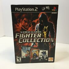 Namco Classic Fighter Collection ( Tekken Tag, 4, Soulcalibur II ) ( PS2 )